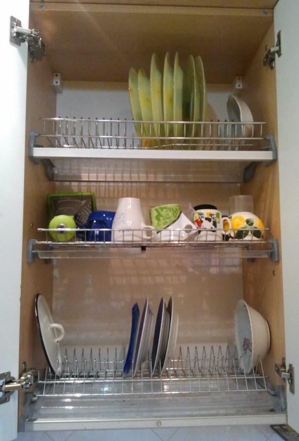 Сушка для посуды, одноуровневая арт.7200 (в шкаф 500мм) арт.7201.